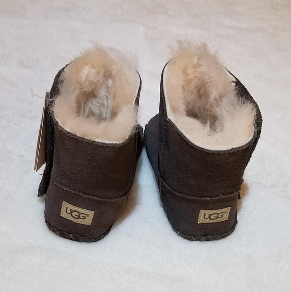 b14d1df5f8d NWT UGG Genuine Grey Baby Boots NWT
